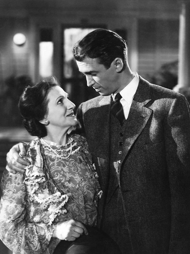 Beulah Bondi played James Stewart\'s mother in 4 films: It\'s a ...
