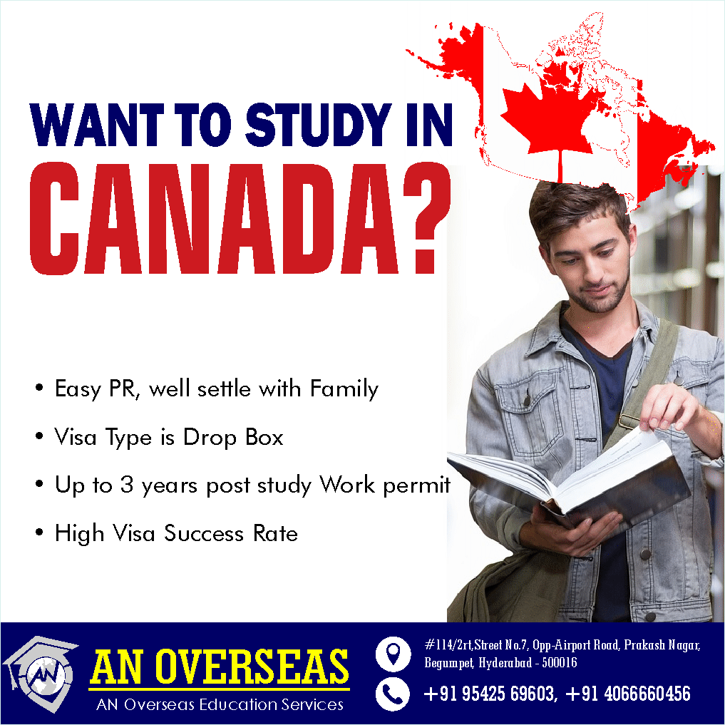 AN Overseas education Consultants are the Overseas