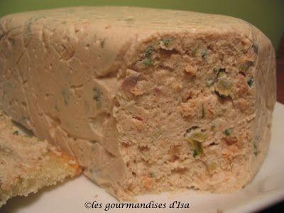 Les gourmandises d'Isa: RILLETTES DE SAUMON AUX CÂPRES