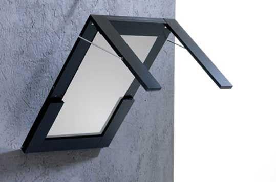 Space Saving Mirror Table Ivydesign Furniture Design Verena