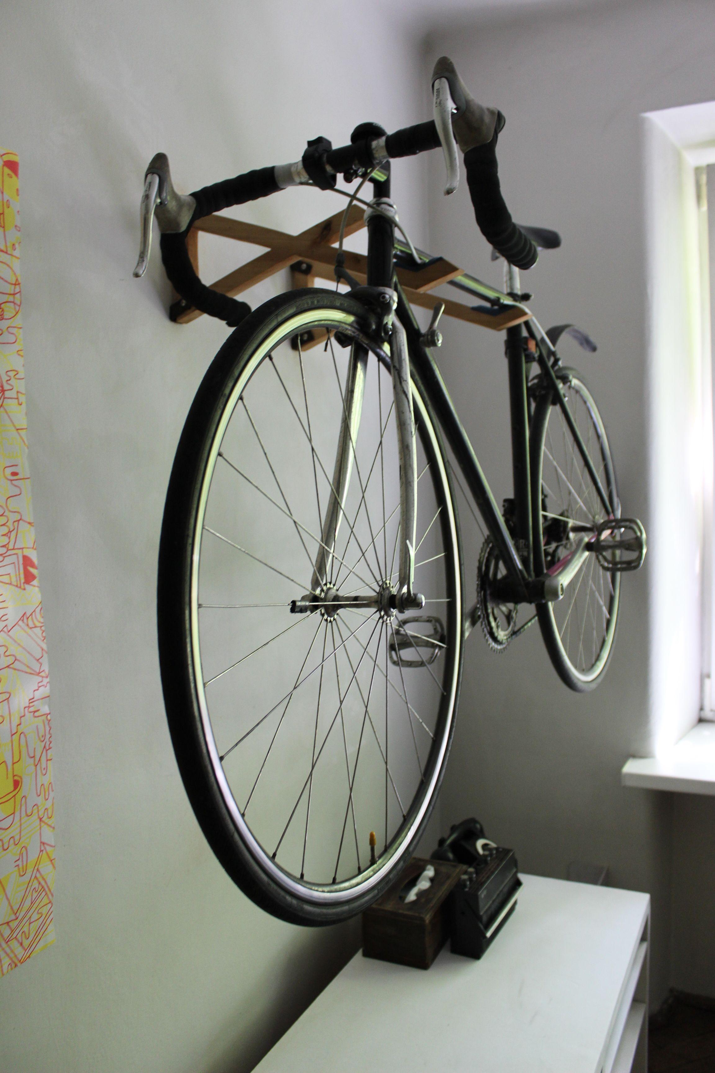 Drewniany Wieszak Na Rower Wood Bike Hanger Www Wieszam Pl Https