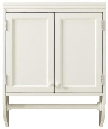 Martha Stewart Living™ Laundry Storage Wall Mounted Cabinet With Removable  Clothing Rod