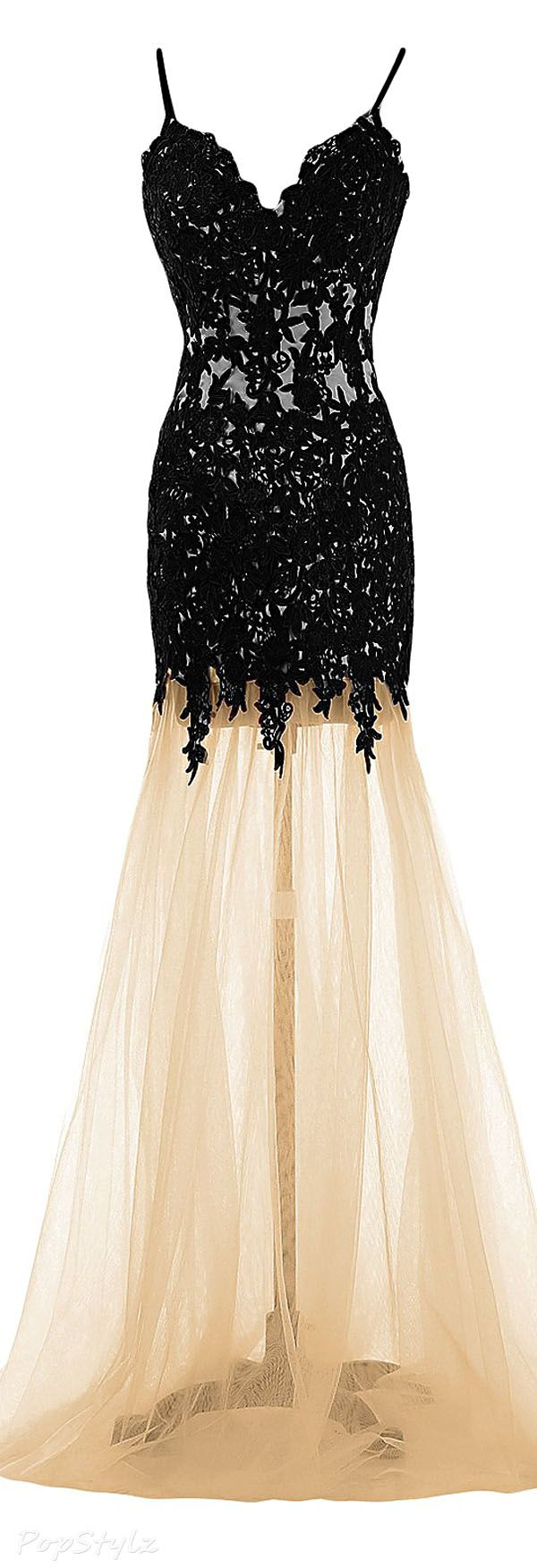 Sunvary mermaid tulle u lace evening gown style scout pinterest