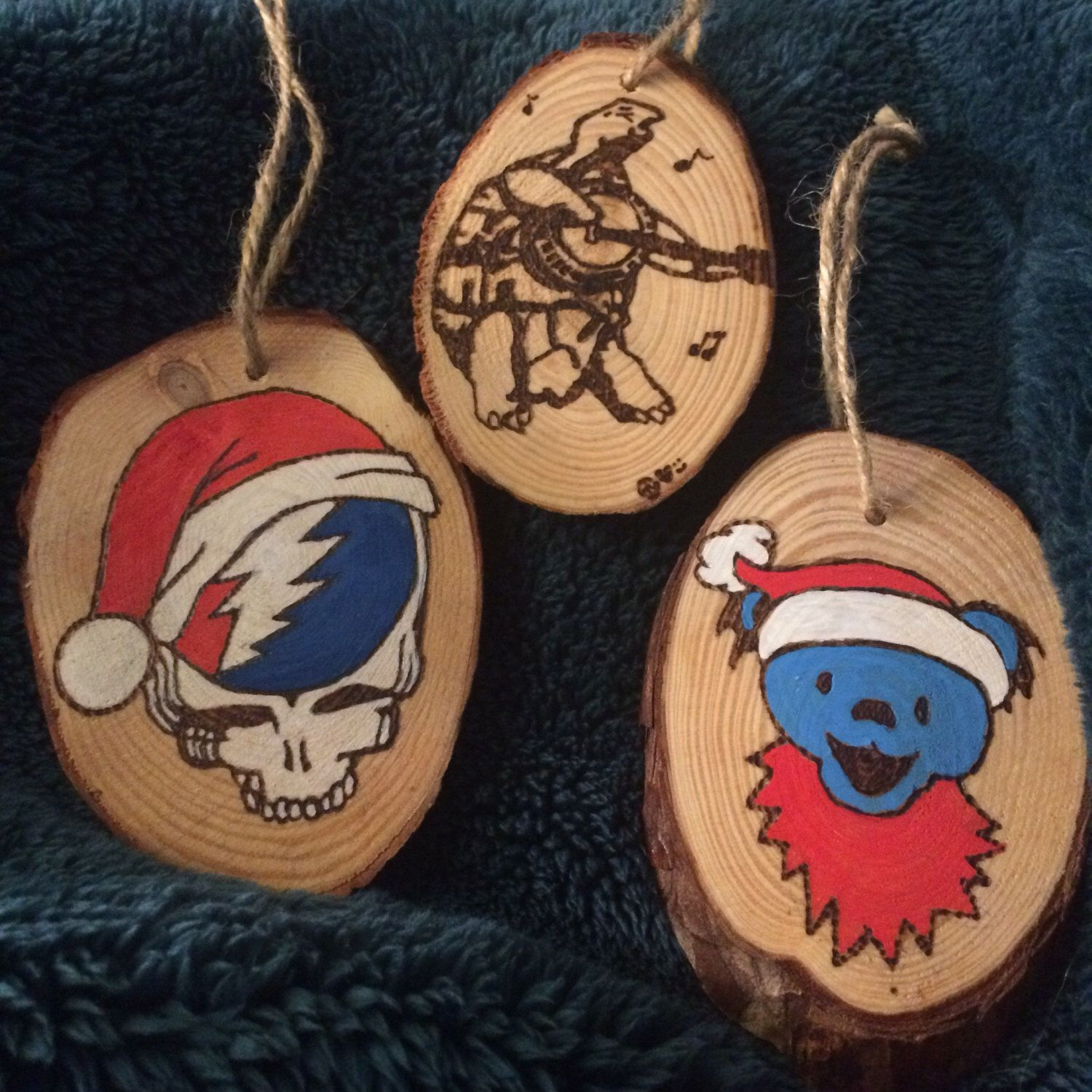 Grateful Dead Christmas Ornament.Pin By Micaila Lee On My Creations Grateful Dead