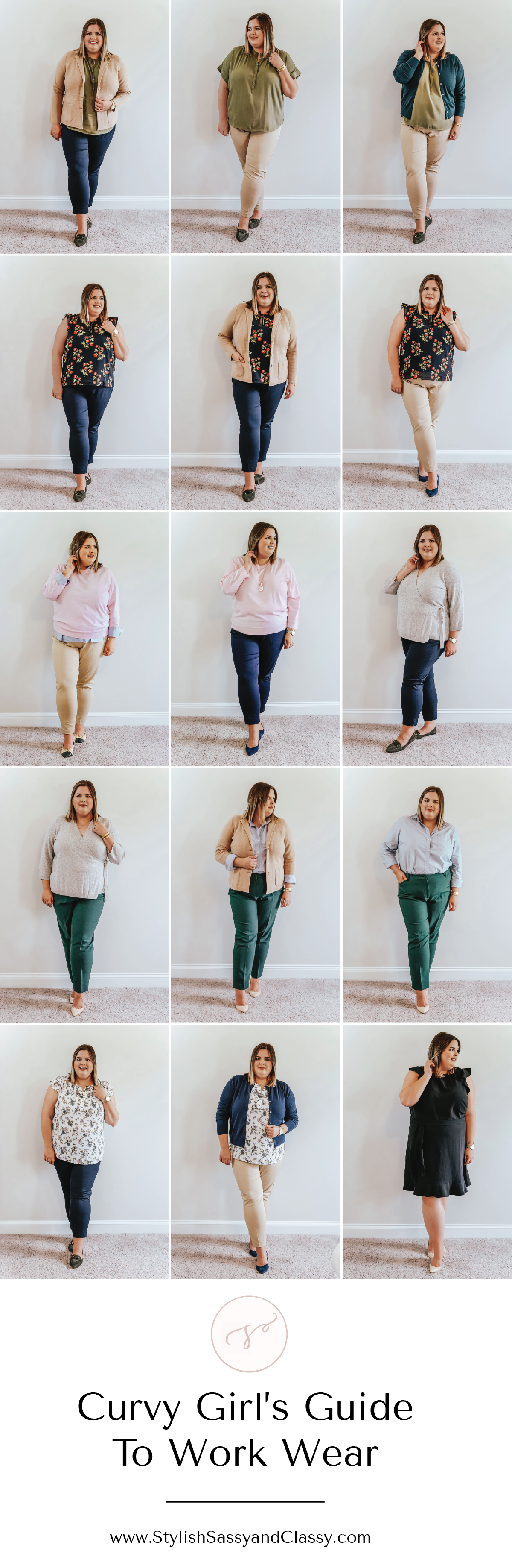 Curvy Girl's Guide To Work Wear Trendy Outfits