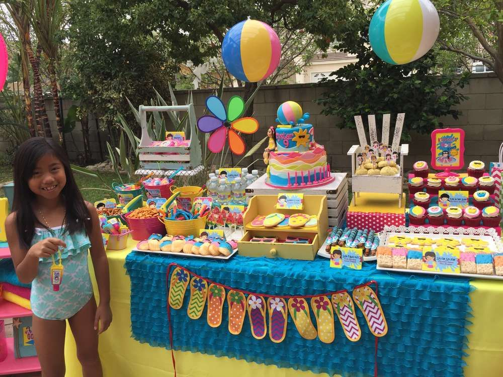 Swimming Pool Summer Party Summer Party Ideas Swimming Pool