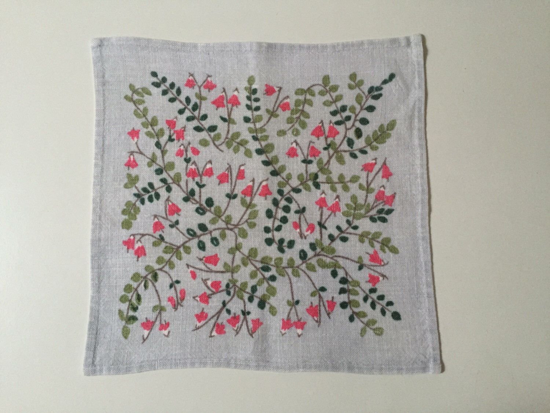 A personal favorite from my Etsy shop https://www.etsy.com/se-en/listing/461838364/vintage-swedish-linnea-print-hand-linen