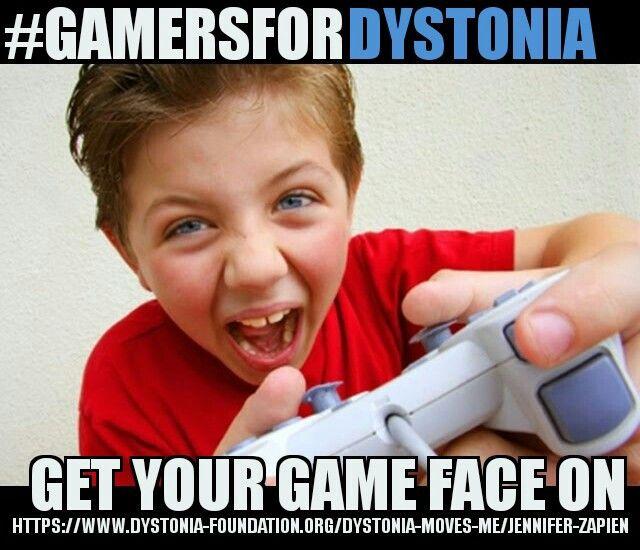 Educate the Youth #DystoniaAwareness  #GamersForDystonia  #JoinTheMovement