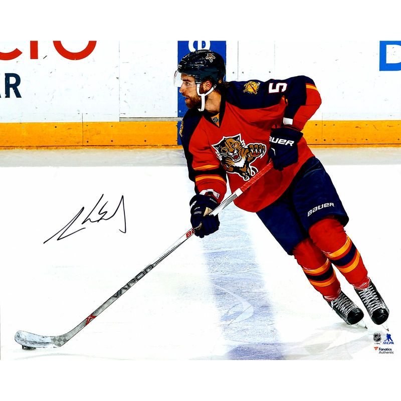 reputable site 97ddd dfd8f Aaron Ekblad Florida Panthers Fanatics Authentic Autographed ...