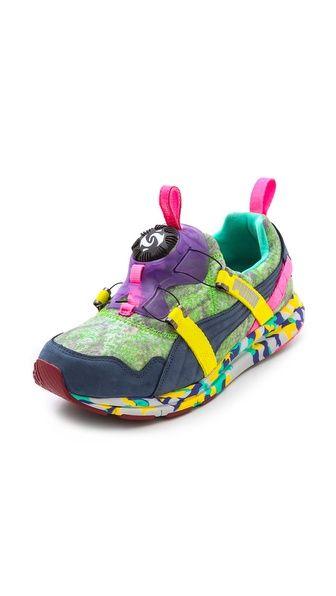 PUMA Puma x Solange Girls of Blaze Disc Rainforest Sneakers b5335f6ed