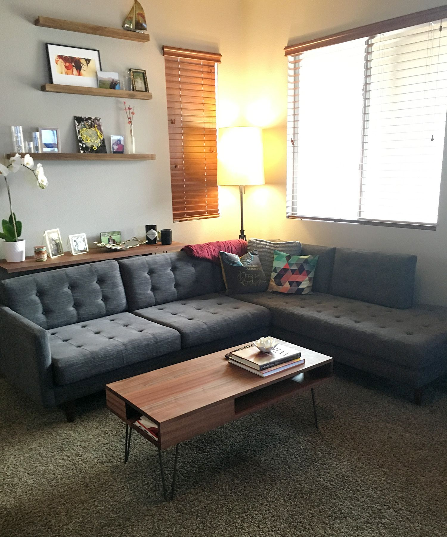 Joybird Eliot Sectional With Bumper 2 Piece From Gloria
