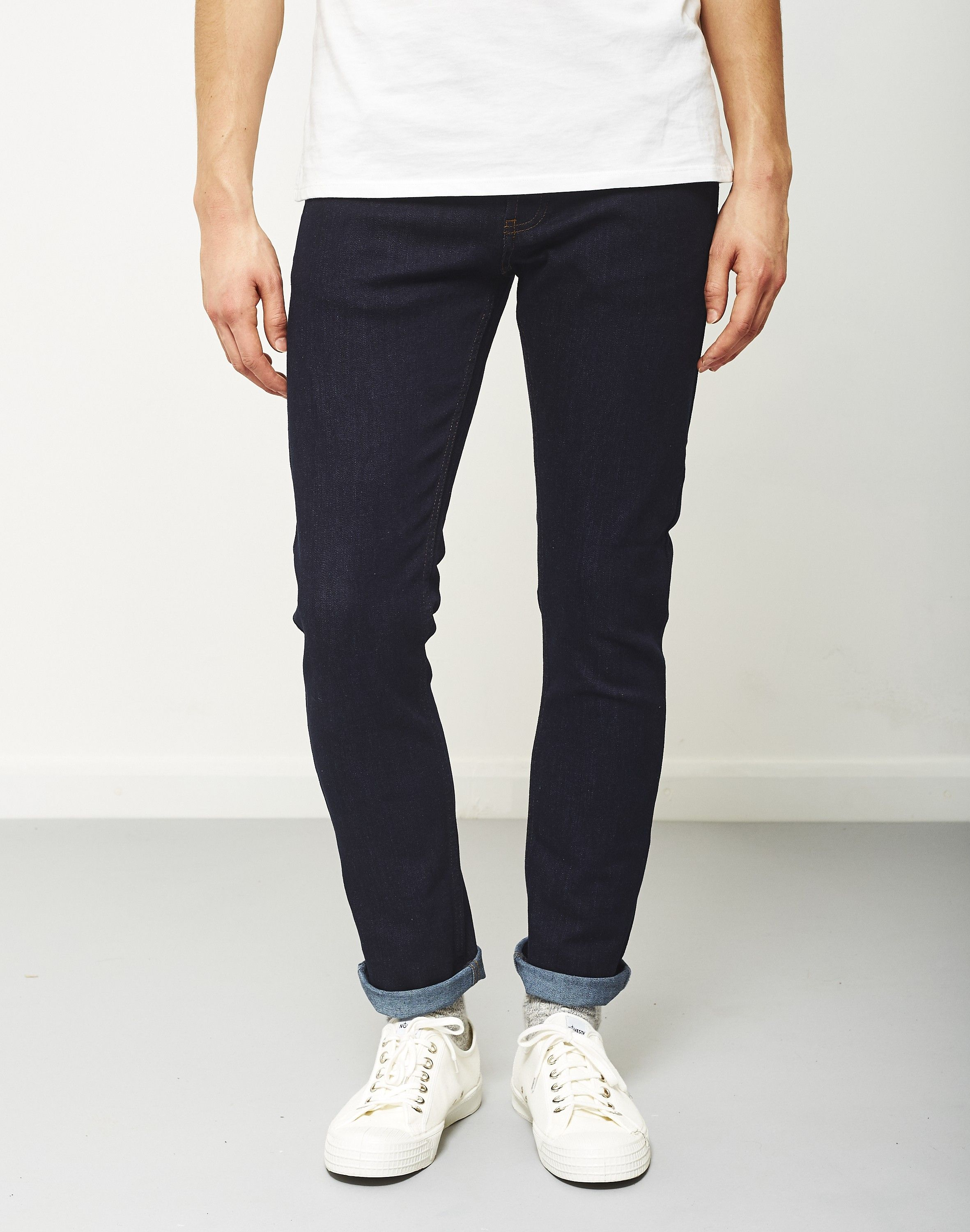eac67a0014c The Idle Man Slim Fit Jeans Rinse Wash Raw