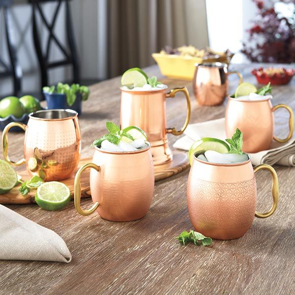 Orted Moscow Mule Mugs From Tuesday Morning