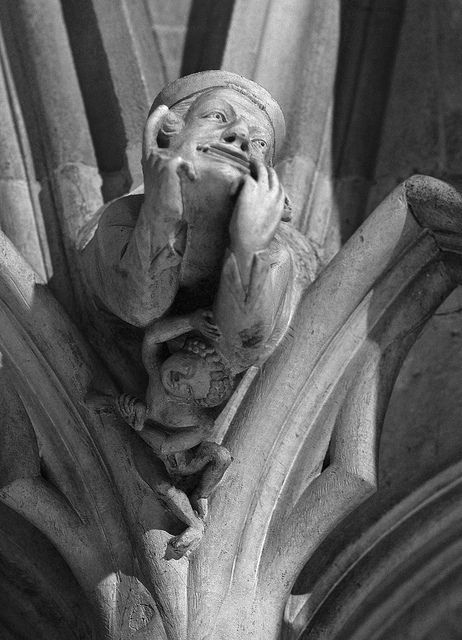 Face - Chapter House of York Minster | Flickr - Photo Sharing!