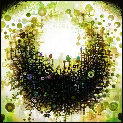 Verde - 仮眠的插画作品图片