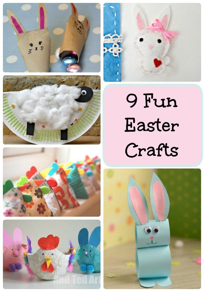 9 Fun Easter Crafts Kids Crafts Easter Crafts Easter Crafts For