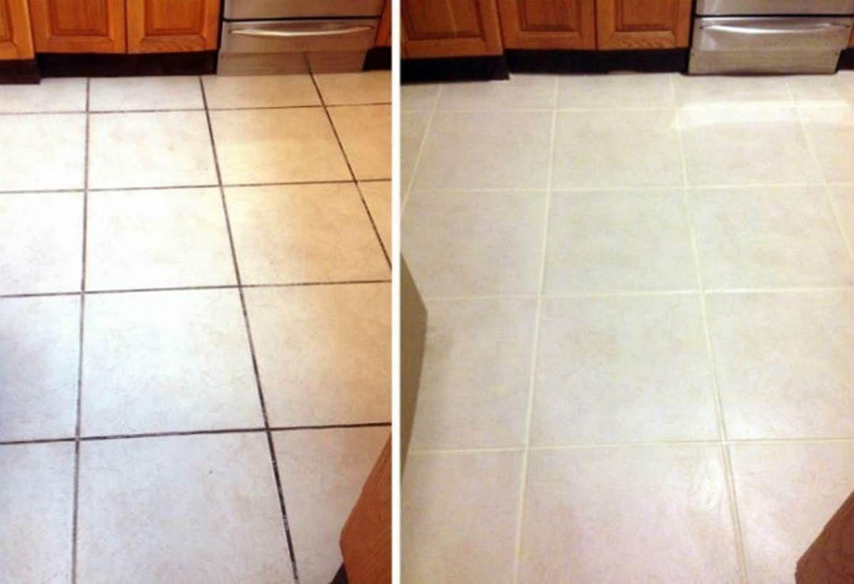 Come pulire le giunture delle piastrelle di casa senza usare prodotti specifici rimedi - Pulire piastrelle bagno ...
