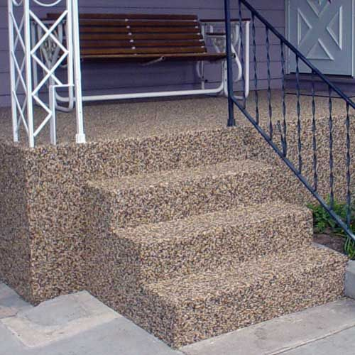 As We Know That Concrete Resurfacing Is To Converting The Cracked Heaving Or To Convert Boring Looking Int Concrete Stairs Concrete Resurfacing Concrete Decor