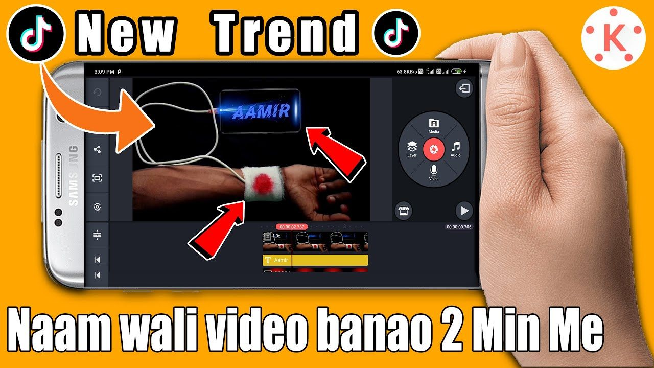 How To Make Charging Hand Name Art Tiktok Video Charging Hand Wali Nam Name Art Mobile Art Video