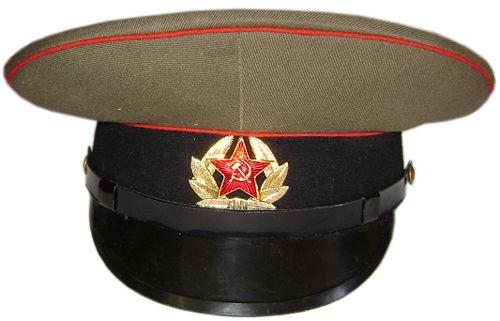 c52c20c56e6 USSR military visor cap with badge. Made for Soviet Army Sergeants ...