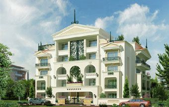 Elegant Canterbury Apartments Off Robertson Road Bangalore A