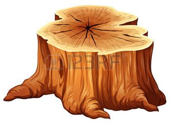 arbre dessin illustration d 39 un grand tronc d 39 arbre sur un fond blanc dessin en 2019. Black Bedroom Furniture Sets. Home Design Ideas