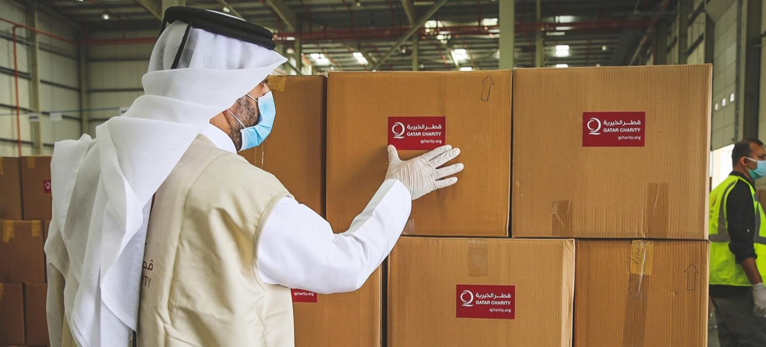 Attaching Great Importance To Voluntary Activities Qatar Charity Qc Has Launched A Variety O Charity Organizations Humanitarian Work International Charities