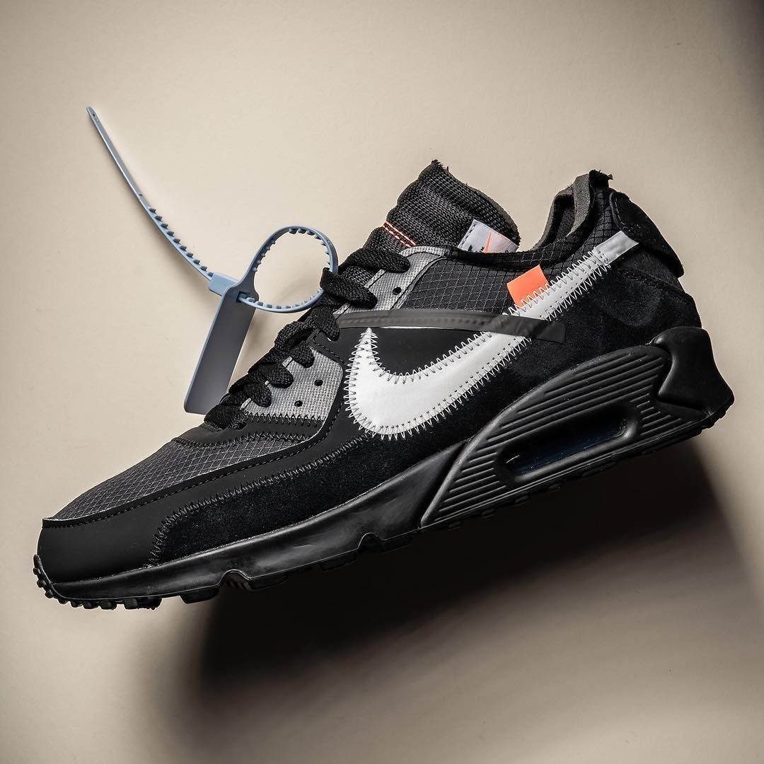 Off White x Nike Air Max 90 | Denim look, Fashion guys