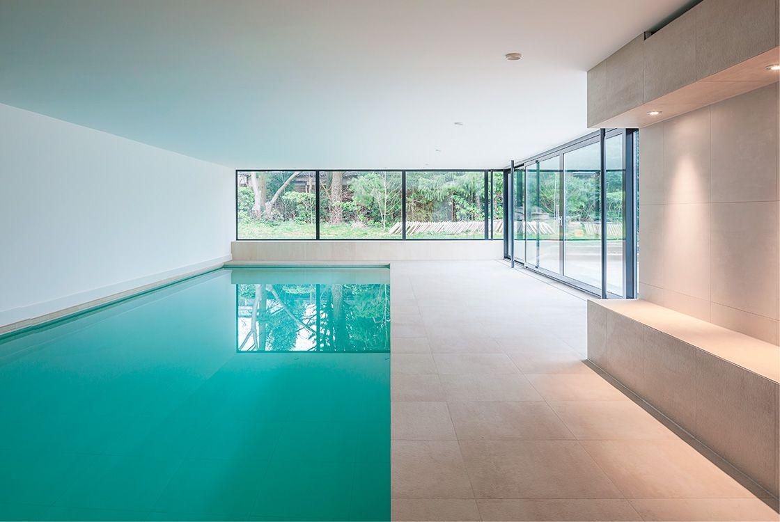 Stories within architecture schwimmbadsanierung neues wellness konzept f r ein privates - Innenpool bauen ...