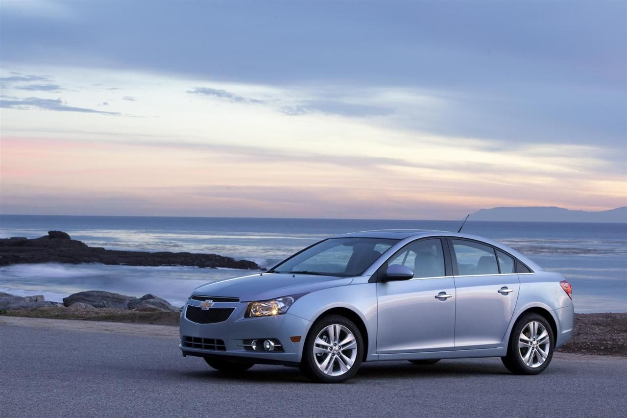 The Chevrolet Cruze was a big hit in the small car segment, and it looks like it's there to stay