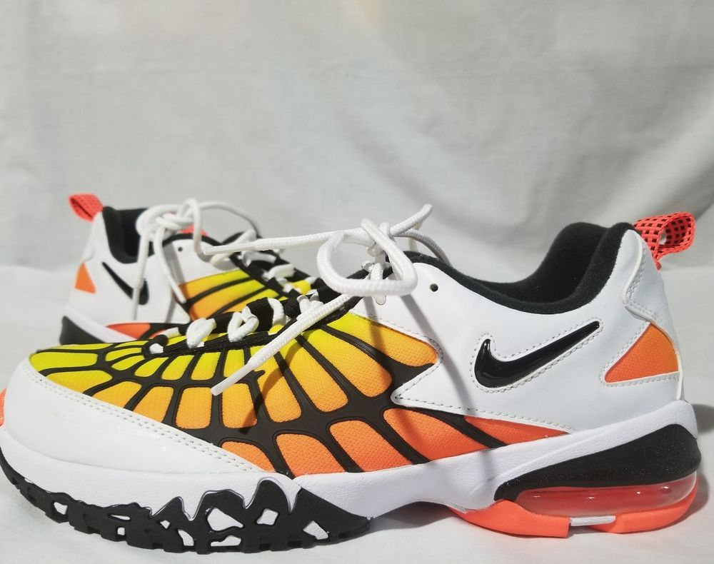 hot sale online f9bac cde57 New Nike Air Max 120 OG Hyper Orange Yellow Athletic Shoes ...