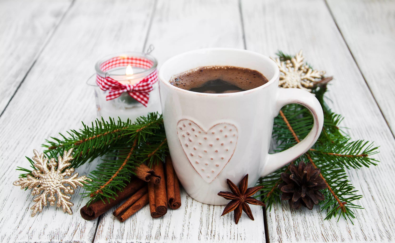 картинки кофе новогоднее настроение работы можно