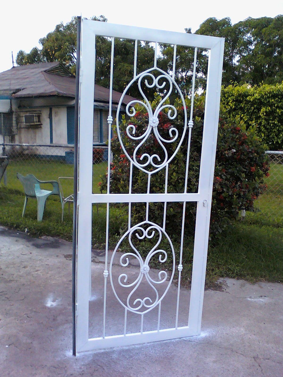 Ideas En Hierro Forjado Rejas Y Puertas Con Modelo De Puertas De Hierro E 111128 175017 Modelo De Pu Metal Doors Design Wrought Iron Design Steel Grill Design