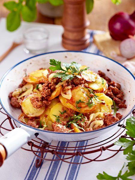 Kartoffel-Hack-Pfanne Rezept Delicious food, Food and Food ideas - serbische küche rezepte