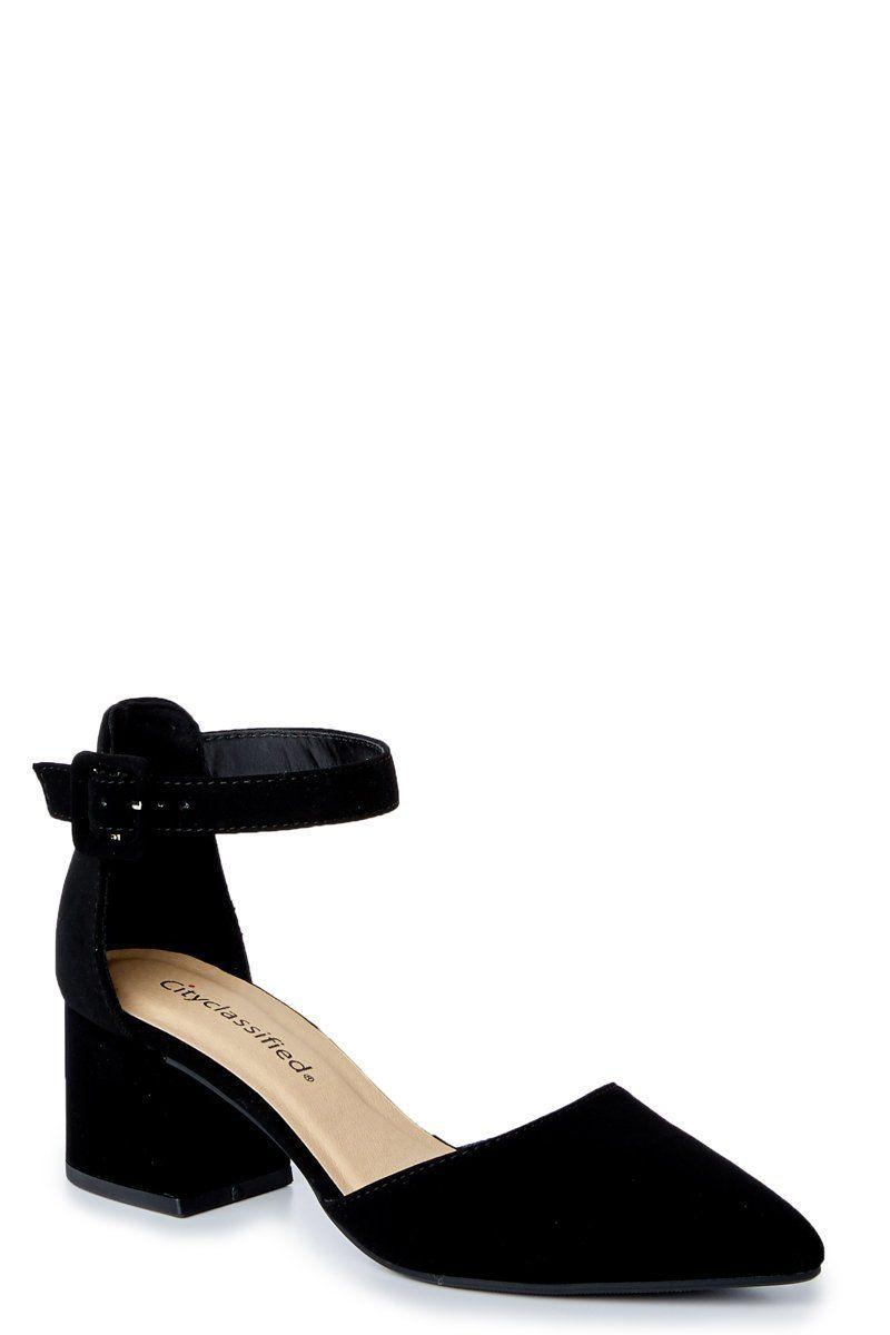 99297df32f3519 Black Heels - Cute Heels - Heels -  26.00 – Red Dress Boutique   AnklestrapsHeels