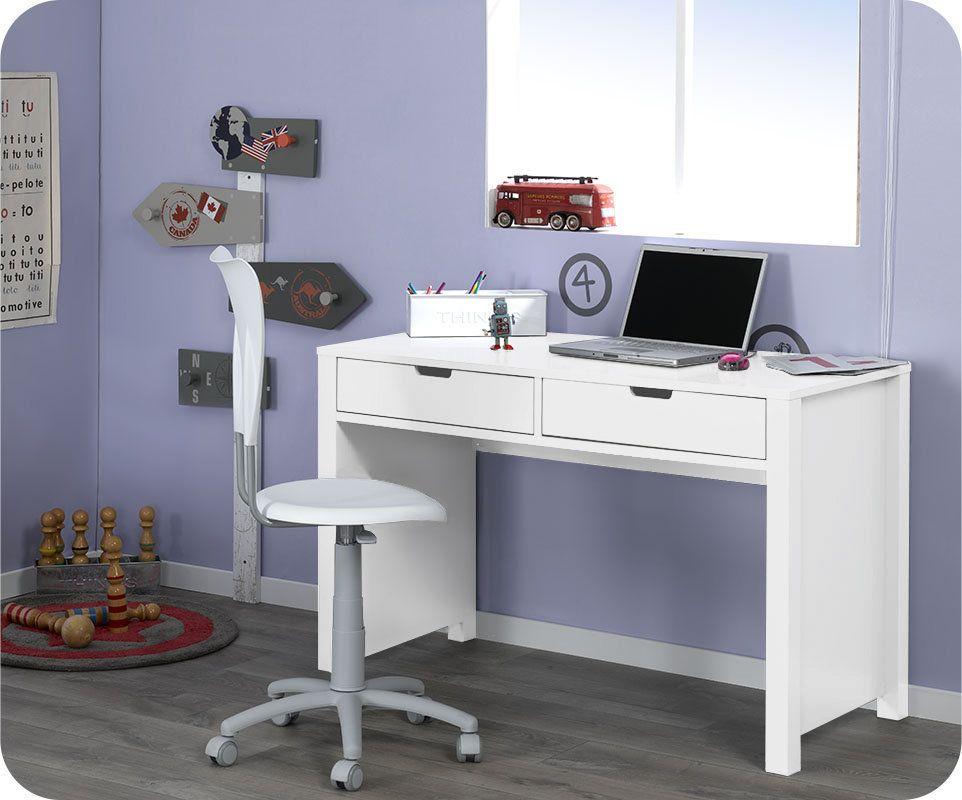 Bureau enfant teen blanc chambre enfant pinterest desk office