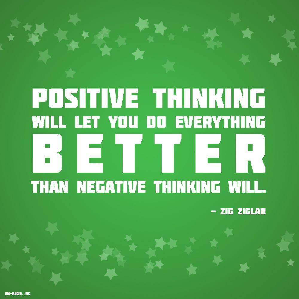 Quote - Positive Thinking by rabidbribri.deviantart.com on @deviantART
