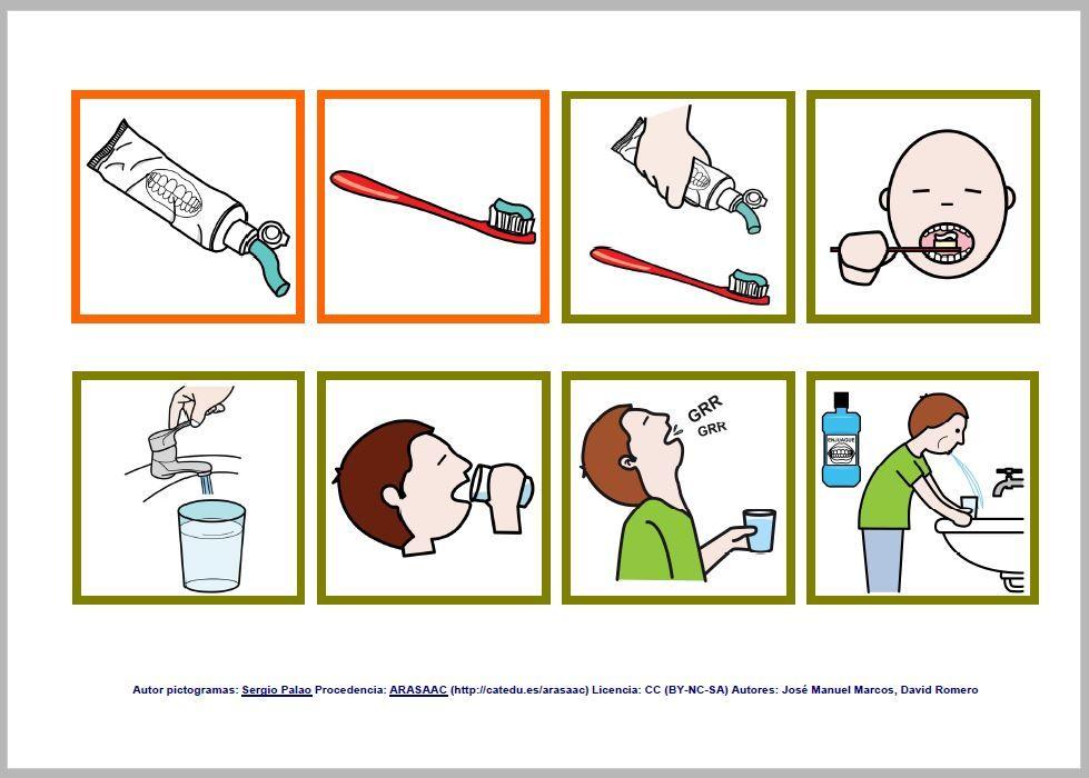 Resultado de imagen de agendas pictogramas para niños autistas ...