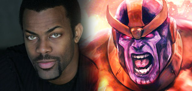 Avengers News Damion Poitier Is Thanos How S Your Robot Next Avengers Avengers Avengers Movies
