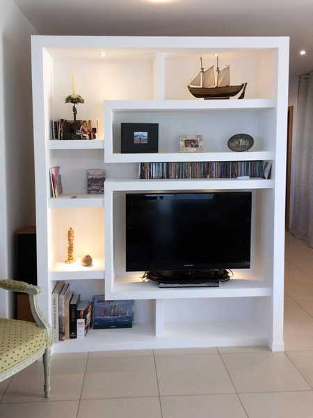 photo-meuble-separation-3 divers meubles Pinterest - fabriquer meuble en placo