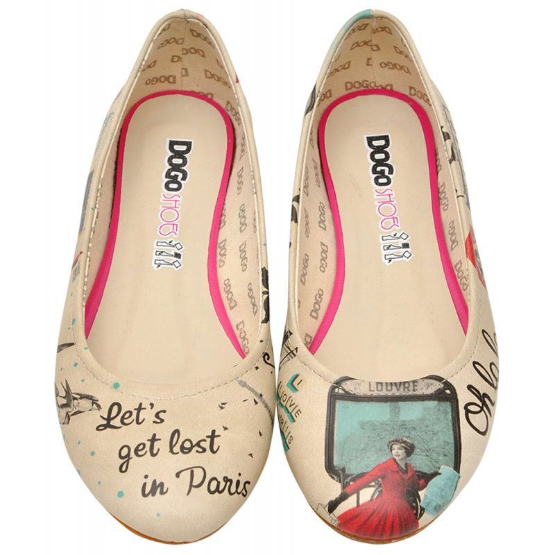 Let's In Flats Ballerina Get Lost ParisShoes Dogo SpzMqGUV