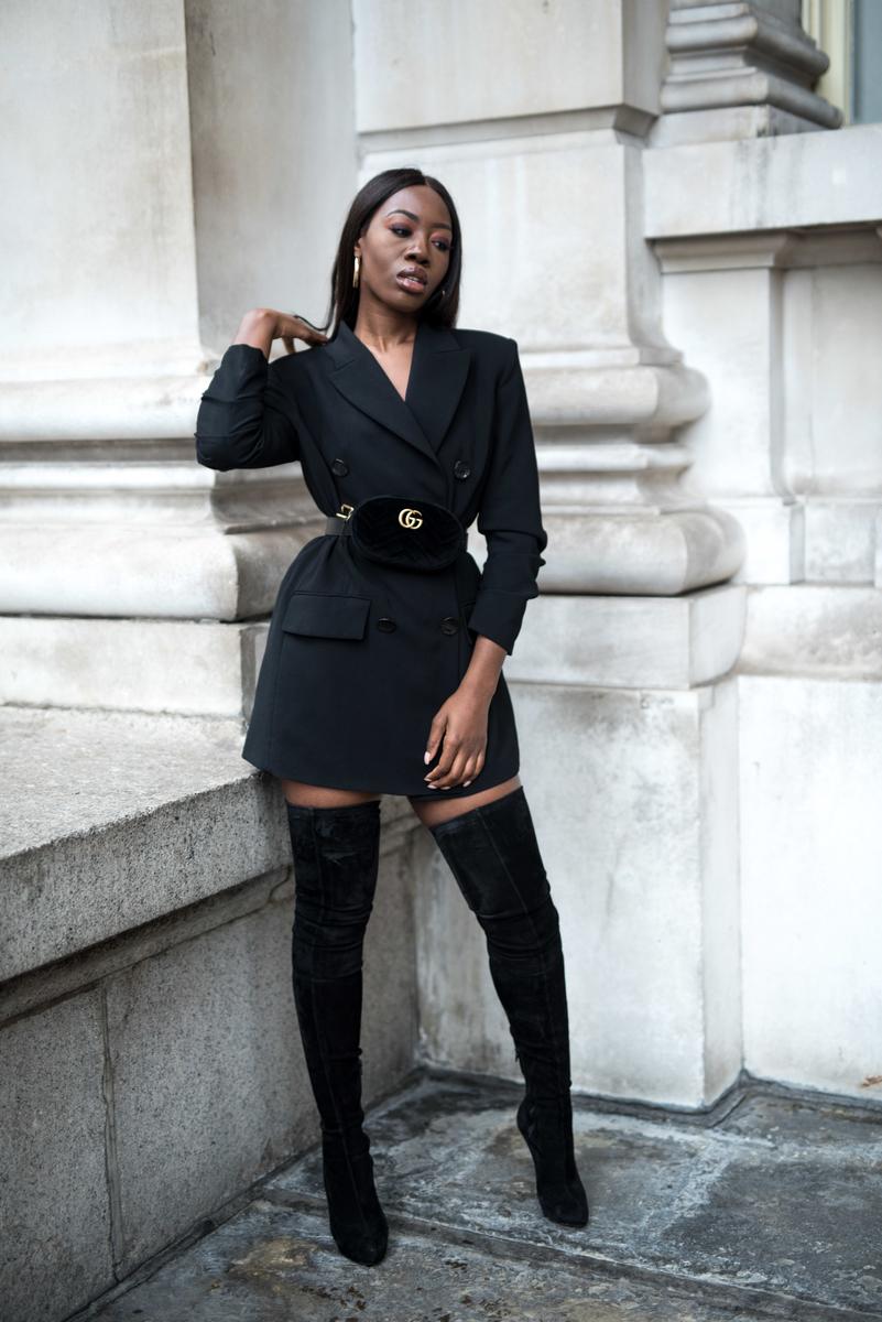 A Long Time Melissa S Wardrobe Melissa S Wardrobe Dress Boots Outfit Blazer Dress Fall Fashion Outfits [ 1200 x 801 Pixel ]