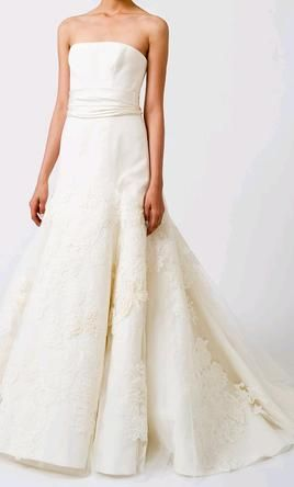 Vera Wang Bouquet Luxe Collection Wedding Dress Used Size 4