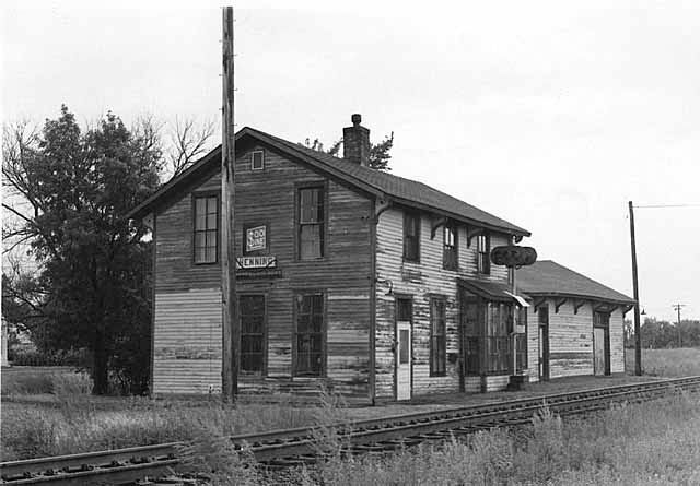 Henning Minnesota Depot Which I Believe Was Used By Both The