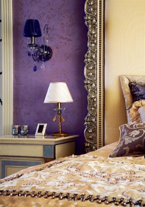 Decoración en lila y violeta DECORACION COLOR LAVANDA Pinterest - farbgestaltung fur schlafzimmer das geheimnisvolle lila