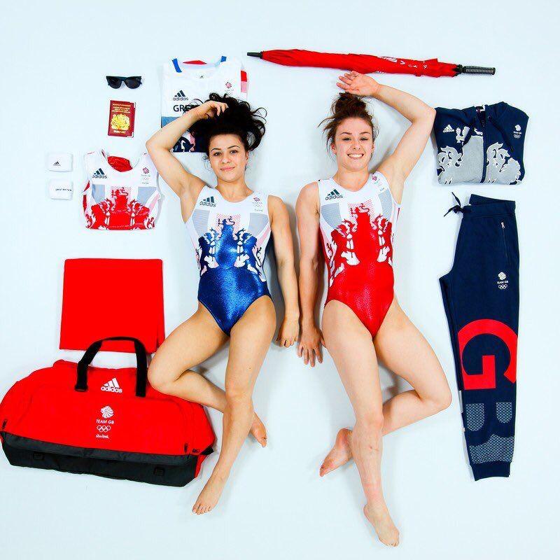 Claudia Fragapane & Ruby Harrold #SassSquad #TeamGB #Gymnastics #Rio2016 #Olympics