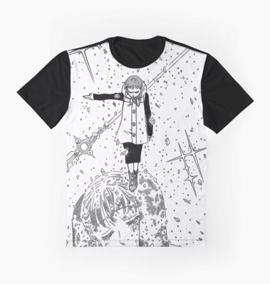 Seven Deadly Sins King And Diane Graphic T Shirt By Toropix In 2021 Seven Deadly Sins Diane Tshirt Designs