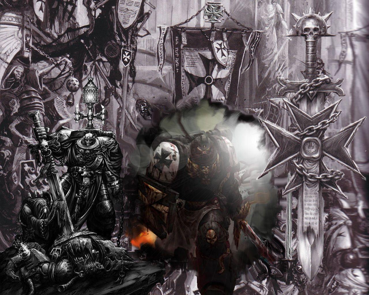 Black Templars Wallpaper Google Search Warhammer Warhammer