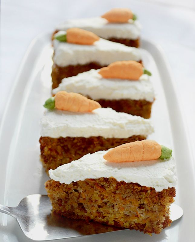 Lets Celebrate 16 LowCarb Cakes to Bake Now Carrots Moist