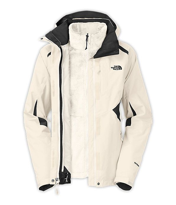 The North Face Women S Jackets Vests Insulated 3 In 1 Jackets Women S Boundary Triclimate Jacket Triclimate Jacket Jackets For Women North Face Jacket